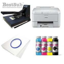 T-shirt printing kit Epson WP-4095DN + SB3D2 Sublimation Thermal Transfer