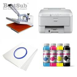 T-shirt printing kit Epson WP-4095DN + SB5A-2 Sublimation Thermal Transfer