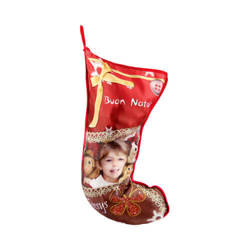 Two-colour Christmas sock for sublimation printing
