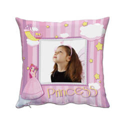 Two-colour satin cover 38 x 38 cm for sublimation printing - Princess