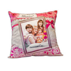 Two-colour satin cover 50 x 50 cm for sublimation printing - Spring