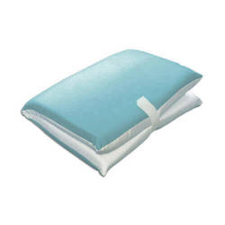 Two-colour seat cover for sublimation printing - light blue