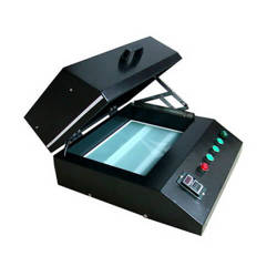 UV curing machine for printing on photo crystals
