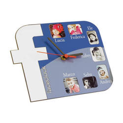 Wall MDF clock for sublimation - Facebook