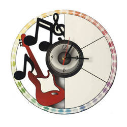 Wall MDF clock for sublimation - Note