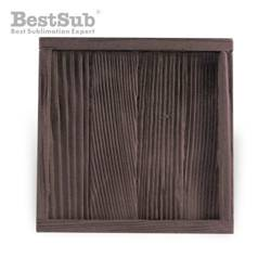 Wood and gypsum tile frame 10 x 10 cm SUBT48 Sublimation Thermal Transfer