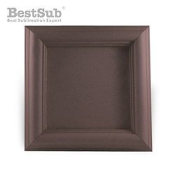 Wood and gypsum tile frame 10 x 10 cm SUBT51 Sublimation Thermal Transfer