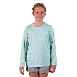 Youth Solar Short Sleeve - Arctic Blue