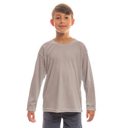 Youth Solar Short Sleeve - Athletic Grey