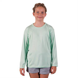 Youth Solar Short Sleeve - Seagrass