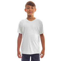 Youth Solar Short Sleeve - White