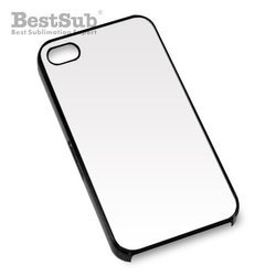 iPhone 5/5S case plastic black mat Sublimation Thermal Transfer