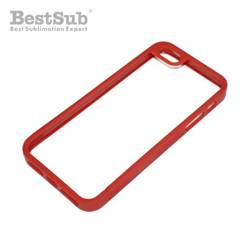 iPhone 5/5S plastic frame red Sublimation Thermal Transfer