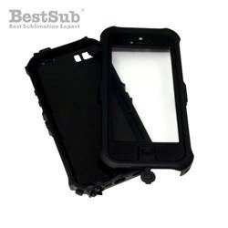 iPhone 5/5S waterproof case black Sublimation Thermal Transfer