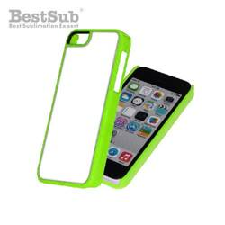 iPhone 5C case plastic green Sublimation Thermal Transfer