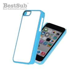 iPhone 5C case plastic light blue Sublimation Thermal Transfer