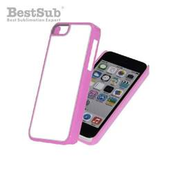 iPhone 5C case plastic pink Sublimation Thermal Transfer