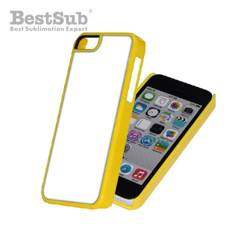 iPhone 5C case plastic yellow Sublimation Thermal Transfer