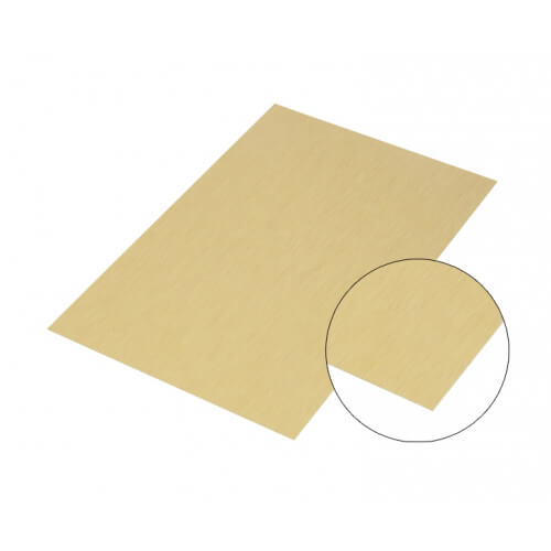 Gold Matte Brushed Aluminium Sheet A2 Sublimation Thermal