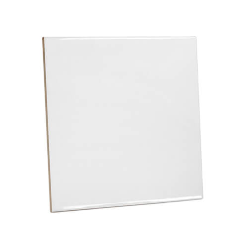 White Super Matte Ceramic Tile X Cm Sublimation Thermal - 10x10 white ceramic tiles