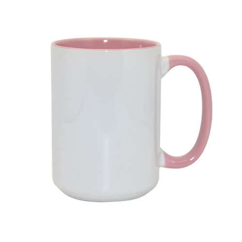 FUNNY mug MAX A+ 450 ml pink Sublimation Thermal Transfer
