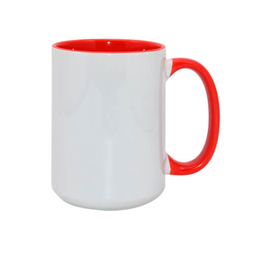 FUNNY mug MAX A+ 450 ml red Sublimation Thermal Transfer