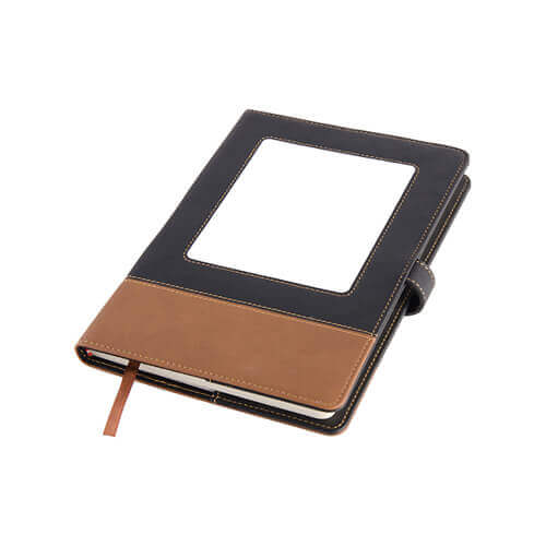 15,5 x 22 cm notebook for thermo-transfer printing