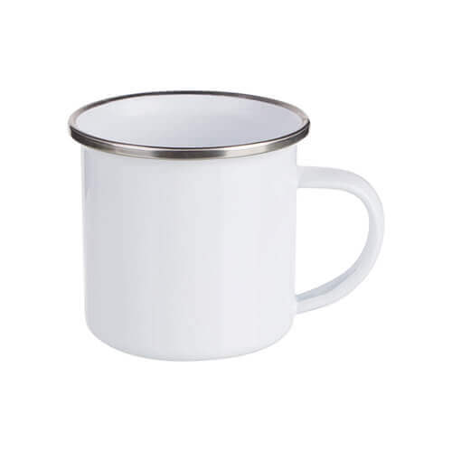 180 ml metal cup for sublimation printing - white