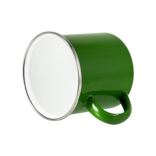 300 ml metal cup for  sublimation printing - green