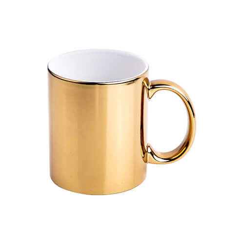 330 ml mug for sublimation printing - gold