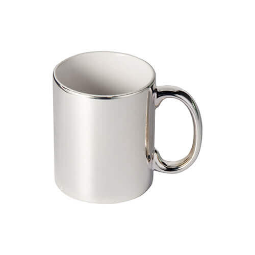 330 ml mug for sublimation printing - silver