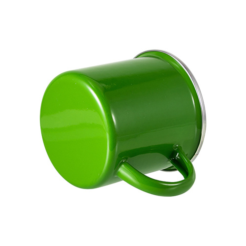 360 ml metal cup for  sublimation printing - green