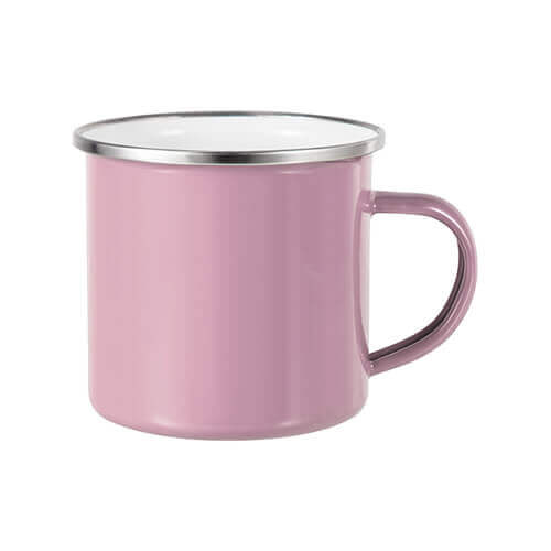 360 ml metal cup for  sublimation printing - pink