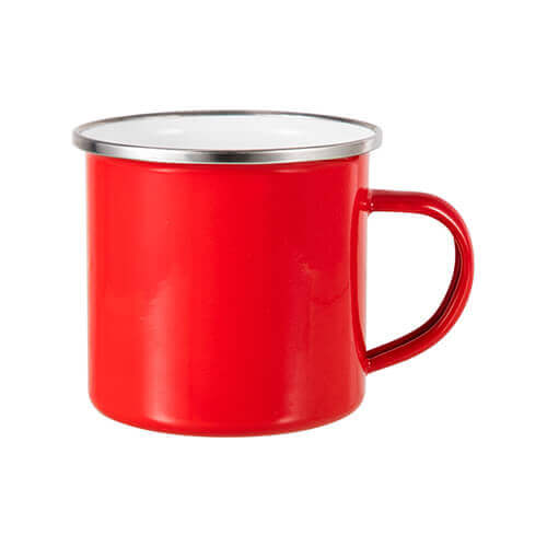 360 ml metal cup for  sublimation printing - red