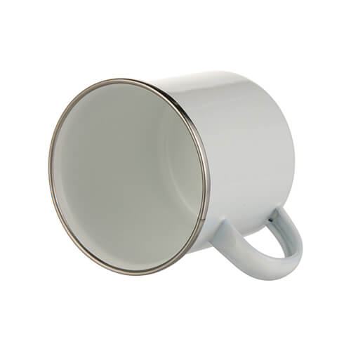 360 ml metal cup for sublimation printing - white