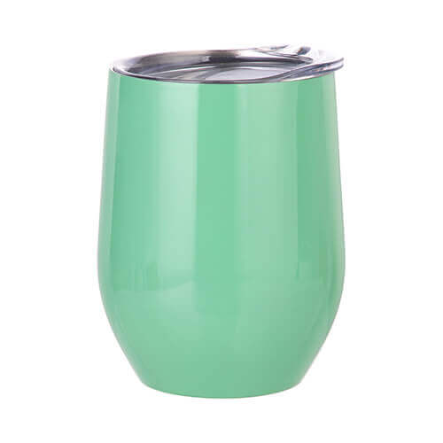360 ml mulled wine mug for sublimation printing - light green