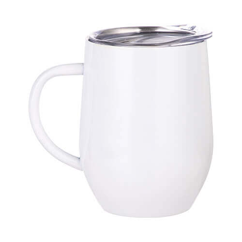 360 ml mulled wine mug with handle for sublimation printing - white