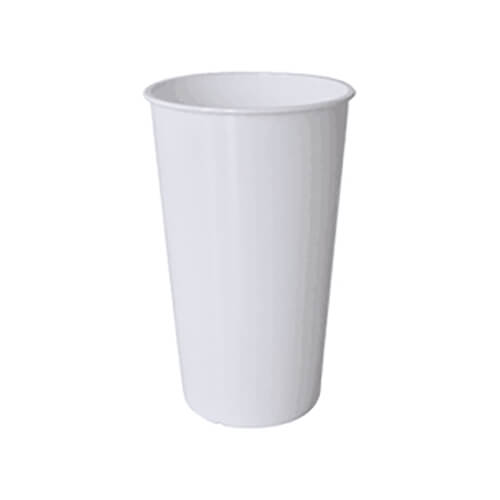 550 ml white, cone-shaped mug for sublimation printing