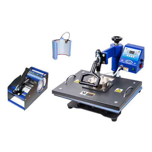 COMBO heat press 3-in-1 Thermal Transfer Sublimation