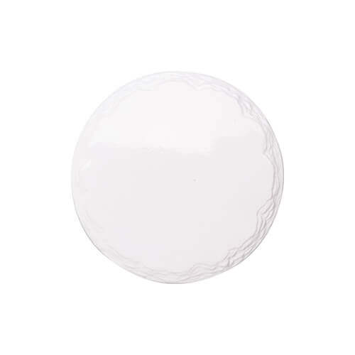 Ceramic coaster for sublimation – circle with a stone pattern