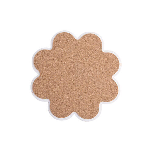 Ceramic coaster for sublimation – flower