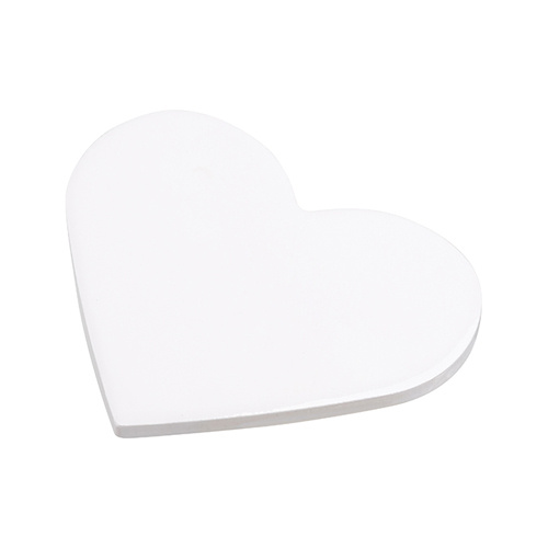 Ceramic coaster for sublimation – heart