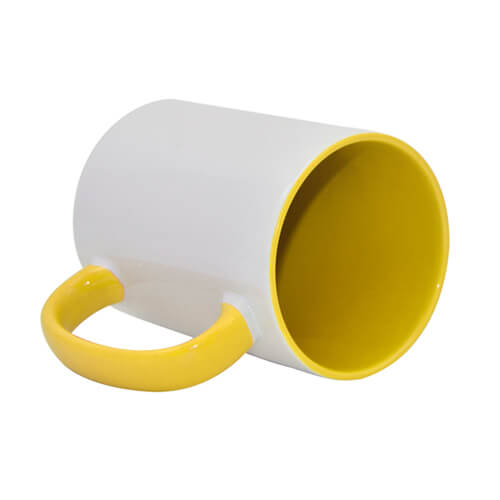 FUNNY mug MAX A+ 450 ml yellow Sublimation Thermal Transfer