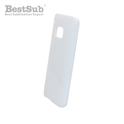 HTC M9 3D case white glossy Sublimation Thermal Transfer