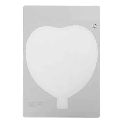 Heart Shaped Photo Balloon A3 Sublimation Thermal Transfer