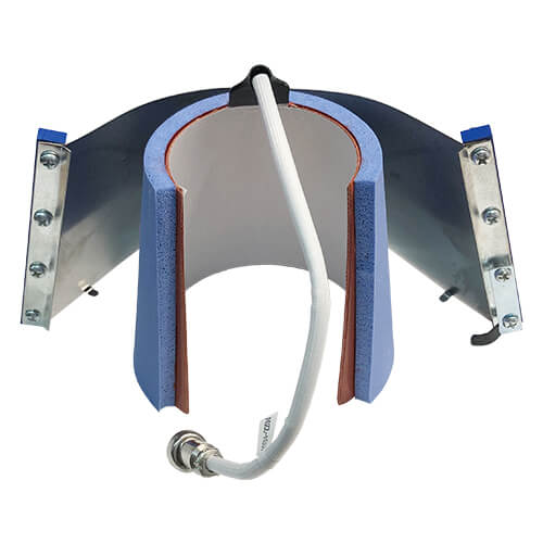 Horizontal press heating element Latte (small)  Sublimation Thermal Transfer
