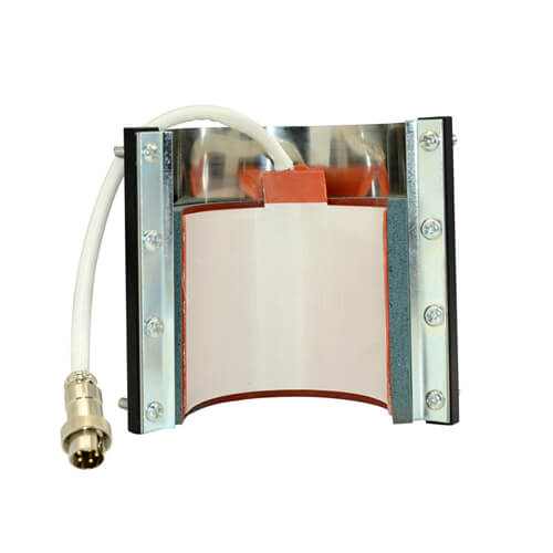 Horizontal press heating element for Mini mugs 150 ml Presses Sublimation Thermal Transfer