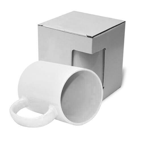 JS Coating white mug MAX 450 ml with box Sublimation Thermal Transfer