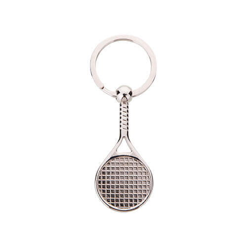 "Keychain ""Tennis racket"" for sublimation printing"