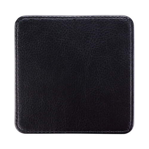 Leather mug coaster for sublimation printing - square